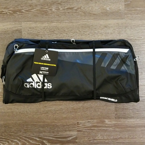 3e26a18208 adidas Team Issue Medium Duffel Bag NWT